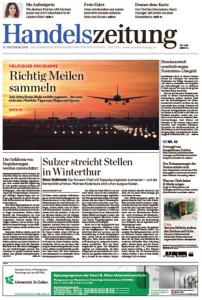 Handelszeitung cover